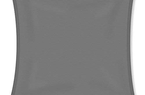 31X0+6eU2bL 500x330 - CelinaSun Sonnensegel, Sonnenschutz Garten Balkon und Terrasse PES Polyester Wetterschutz wasserabweisend imprägniert Schattenspender 1000287 Quadrat 3 x 3 m anthrazit