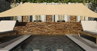Innoo Tech Sonnensegel 2x3m Sonnenschutz sonnensegel wetterbestaendig Segel Schatten PES 310x165 - Innoo Tech Sonnensegel 2x3m Sonnenschutz sonnensegel wetterbeständig Segel Schatten PES UV-Schutz sonnensegel rechteckig für Garten Outdoor Terrasse Balkon ,Beige
